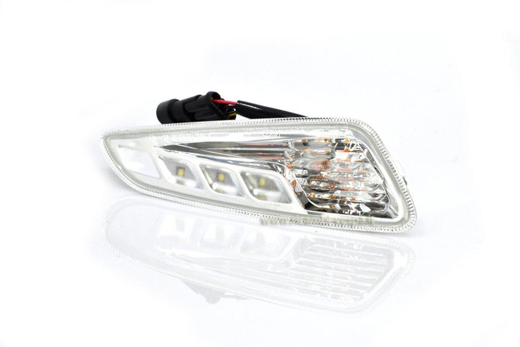 Freccia Piaggio anteriore sinistra a LED daylight per