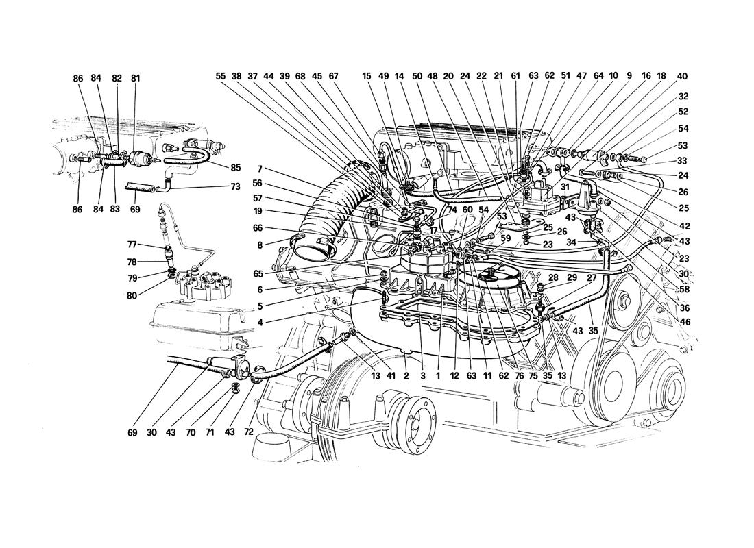 Ferrari 308qv Fuel Injection System