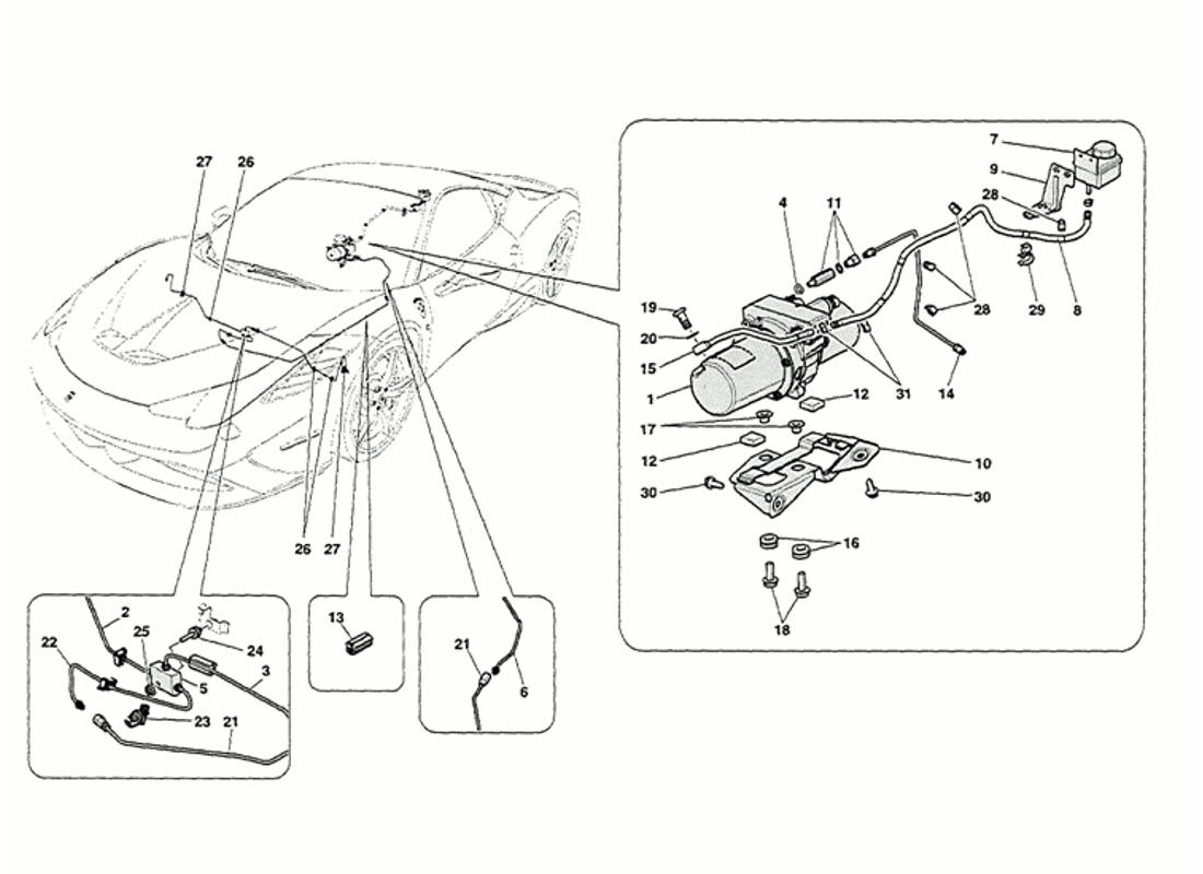 Ferrari 458 Speciale Vehicle Lift System