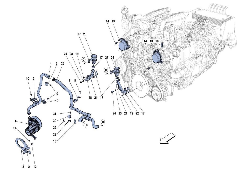 Ferrari 488 Gtb Secondary Air System