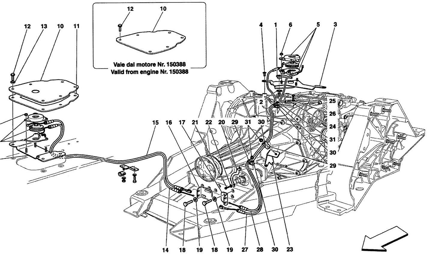 Ferrari California 09 Manual Release Control For Dct