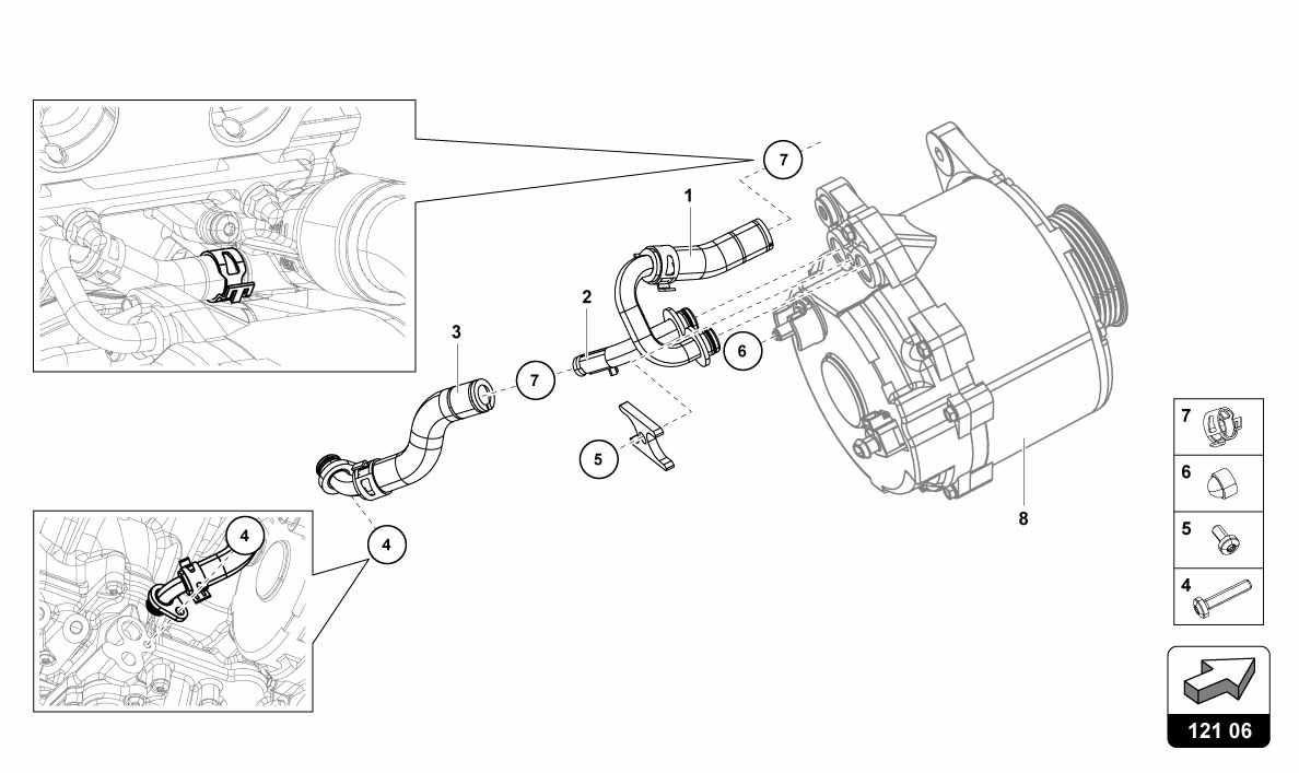 Lamborghini HURACAN (LP610-4) USA WATER COOLING SYSTEM