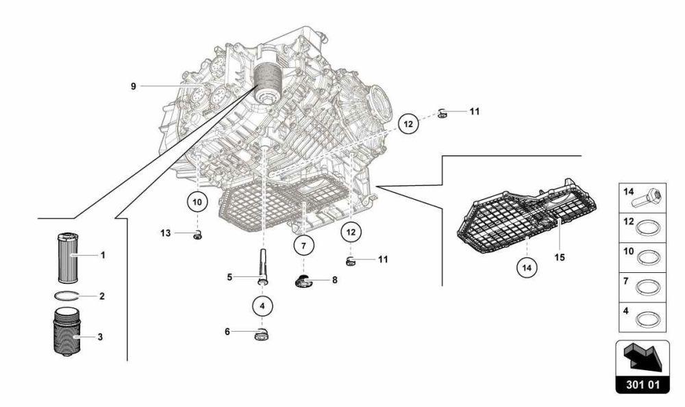 medium resolution of gearbox oil filter