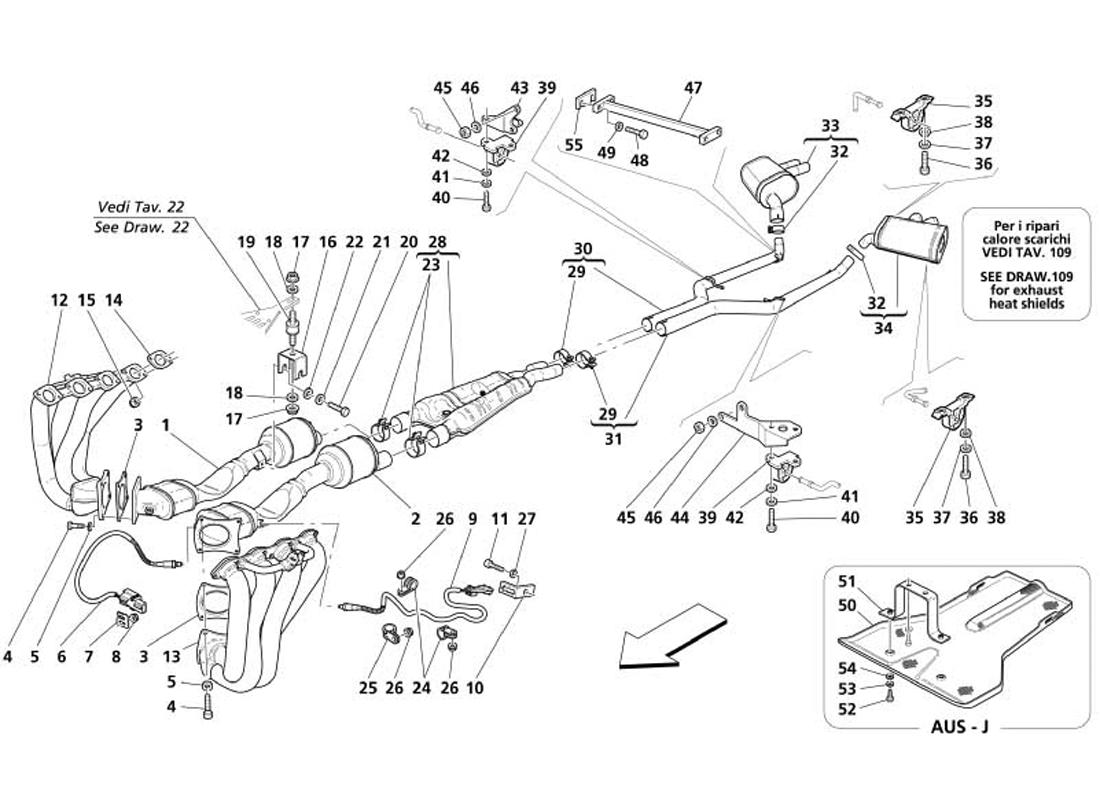 Audi A4 Exhaust Diagram