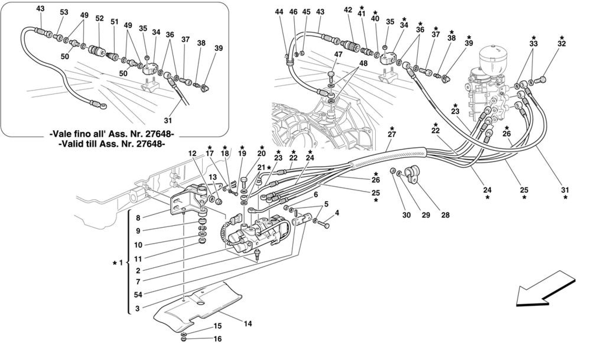Ferrari F355 M5.2 (1996+) F1 CLUTCH HYDRAULIC CONTROL