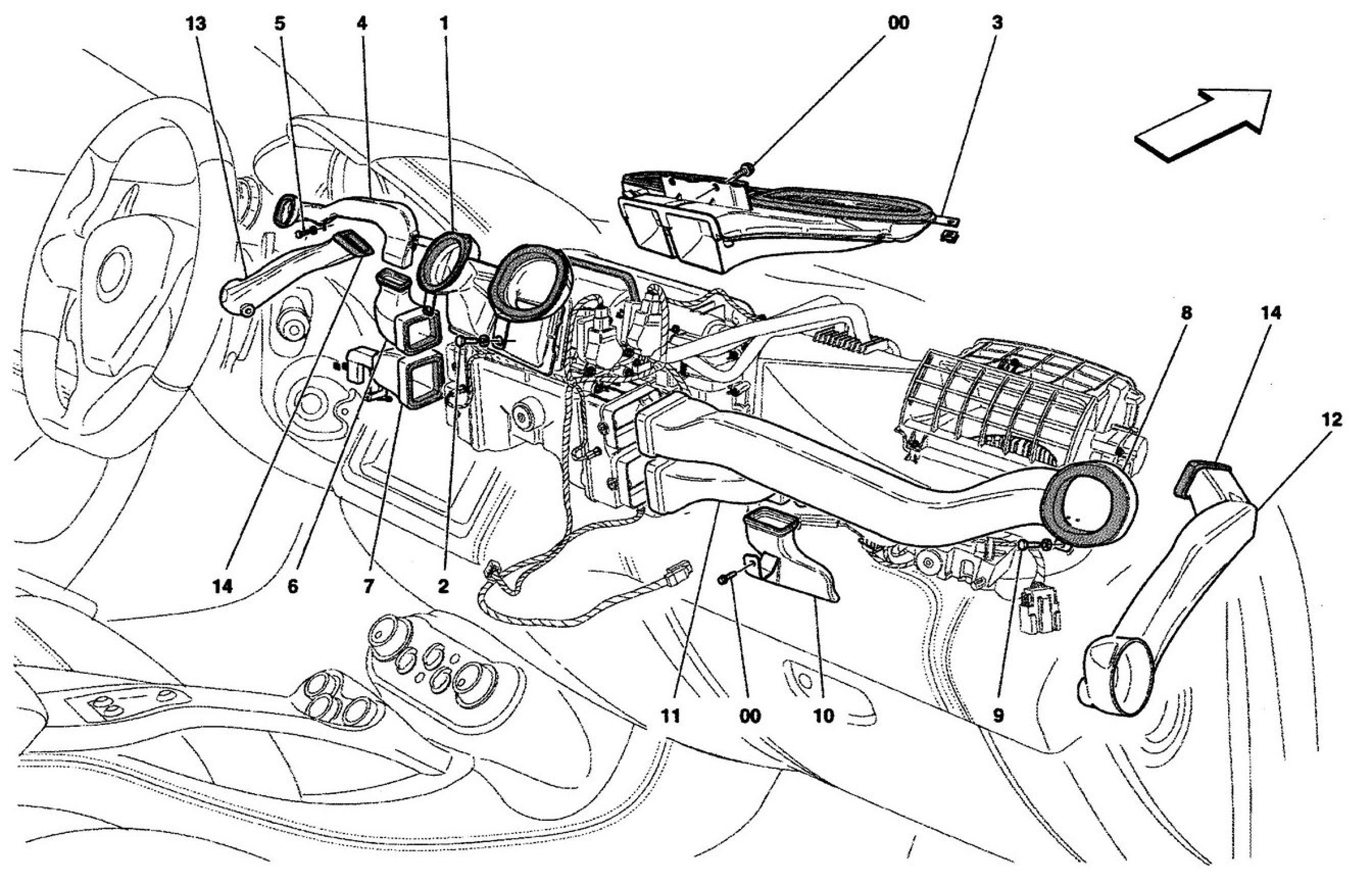 Ferrari California 09 A C Unit Diffusion