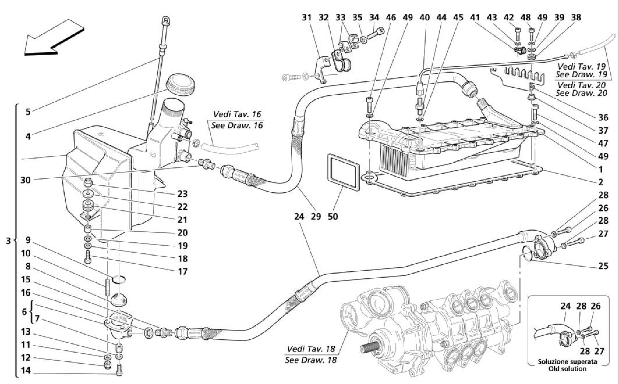 Maserati Maserati Coupe Lubrication System
