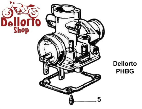 Dellorto PHBG Carburetor Parts
