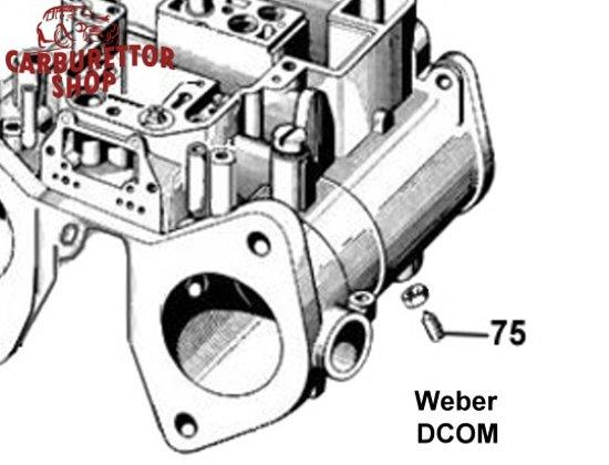Weber DCOM carburetor parts