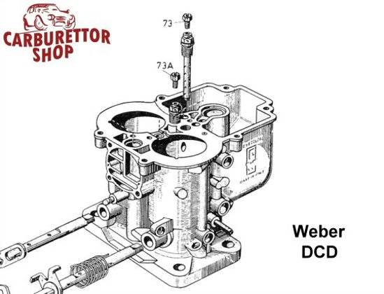 Weber DCD Carburetor Parts