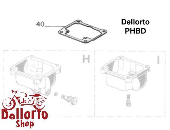 Dellorto PHBD Carburetor Parts