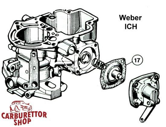 Weber ICH Carburetor Parts