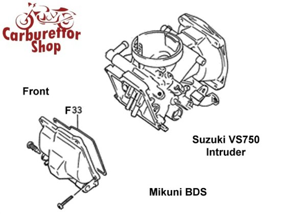 Mikuni BDS Carburetor Parts and Service Kits
