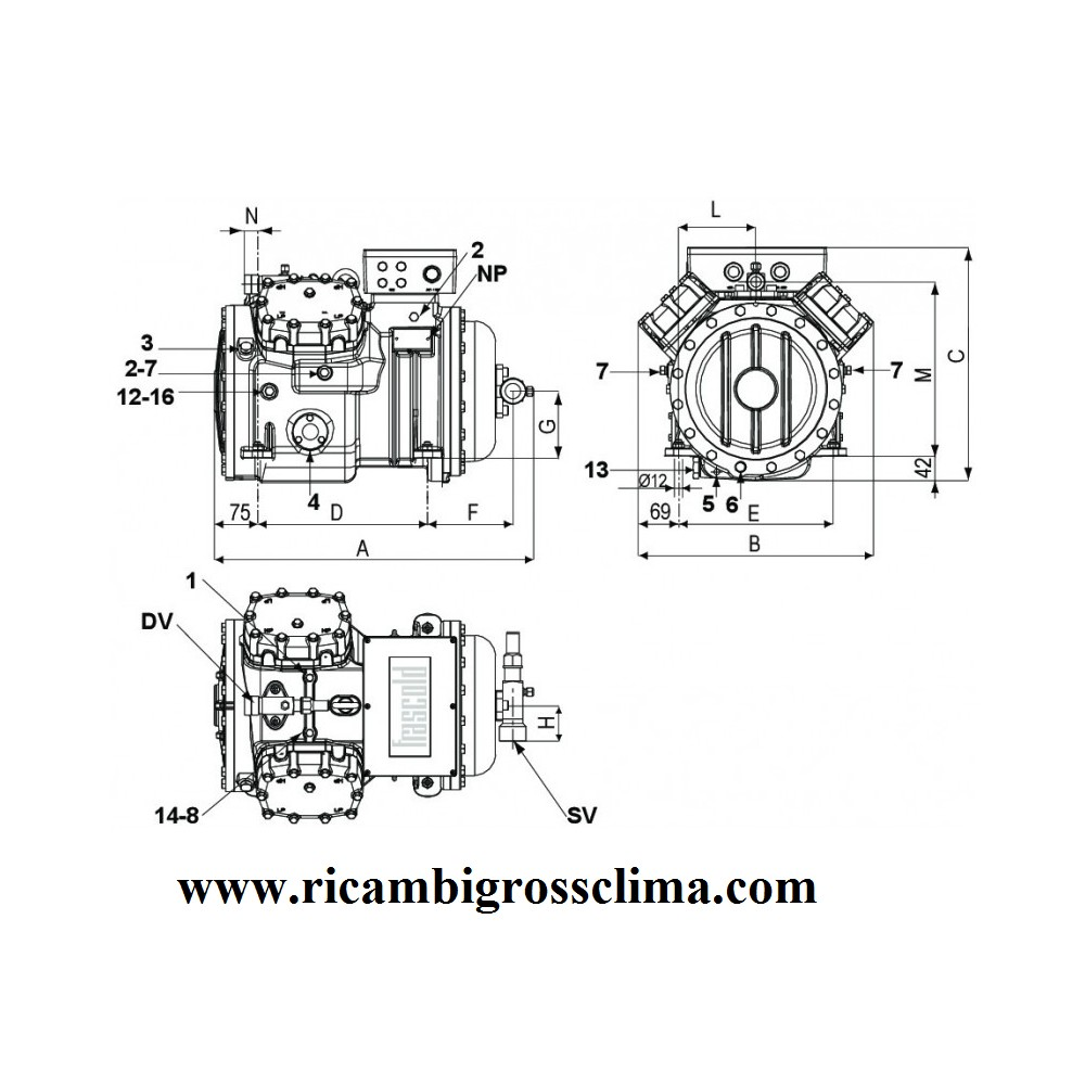 medium resolution of 1 hp refrigeration compressor wiring diagram