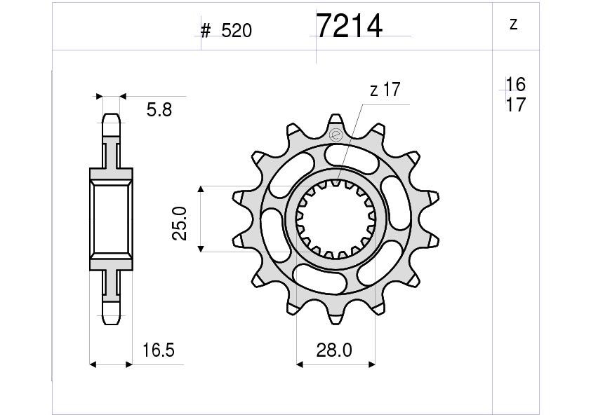 Crown pinion transmission kit DID Chain GP 520 ktm lc8 990