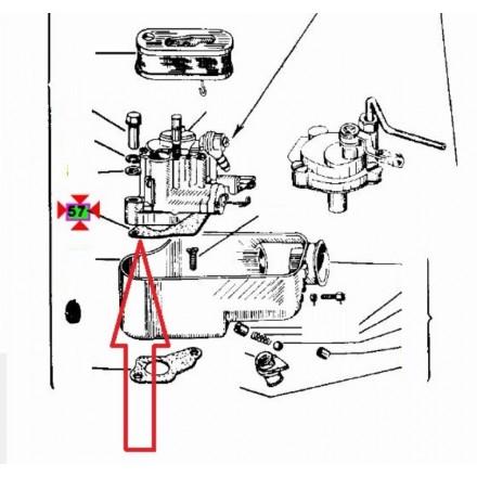 Guarnizione carburatore Originale Piaggio Vespa PX