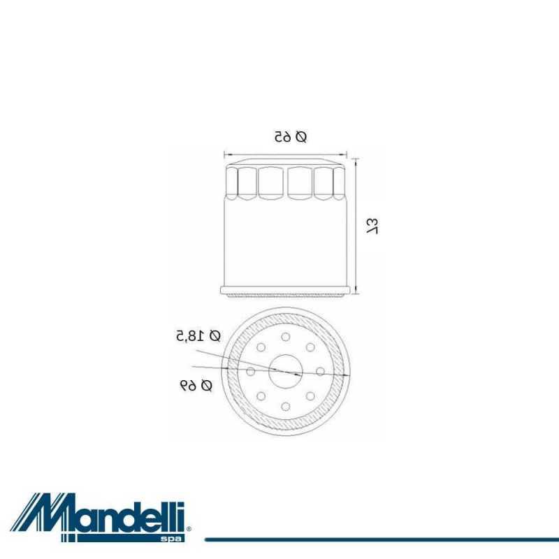 Oil Filter Yamaha V-Max 1200 1986-2001 403550885#667