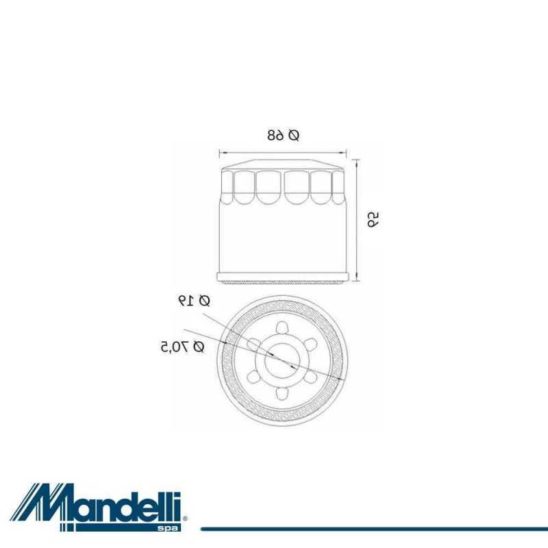 Filtro Olio Suzuki Dl1000 V-Strom 2002-2010 403550895#9