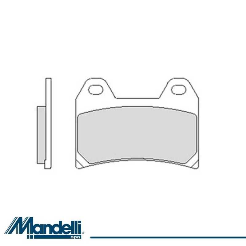 Pastiglie Freno Organiche Anteriori Ducati Monster 1100