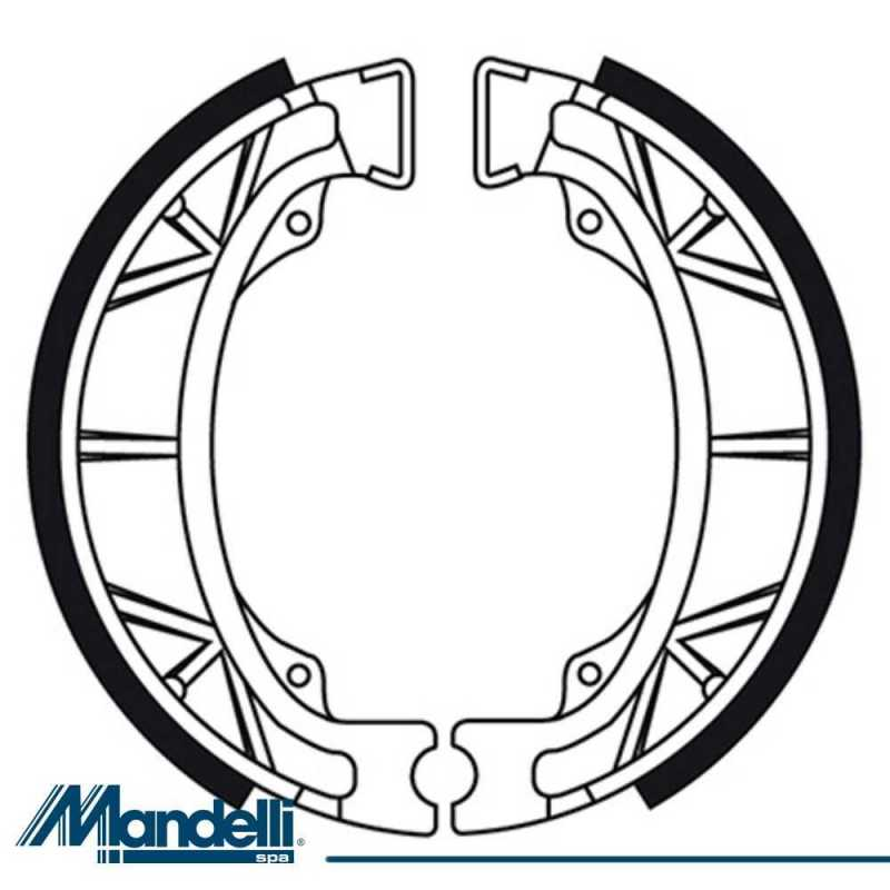 Bremsbacken Hinten Malaguti F12 Phantom Restyling-2.3 50
