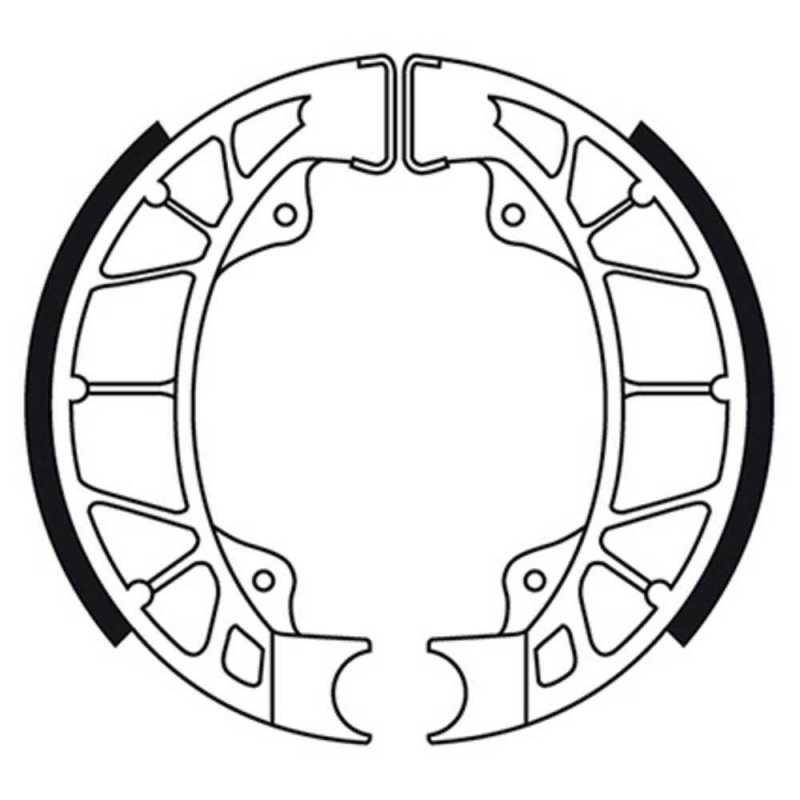 Zapatas De Freno Trasero Piaggio Hexagon 125 1994-1997
