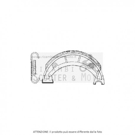 REAR BRAKE APRILIA Gulliver Lk 50 95/00 655219
