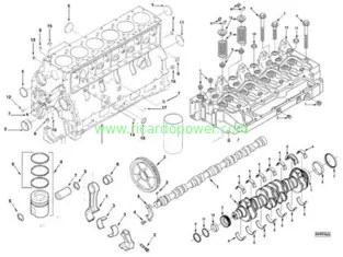 DCEC Cummins 6B,6BT,6BTA,6BTAA series diesel engine spare