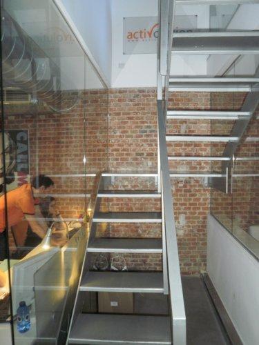Escalera segunda planta ACTIVOLUTION