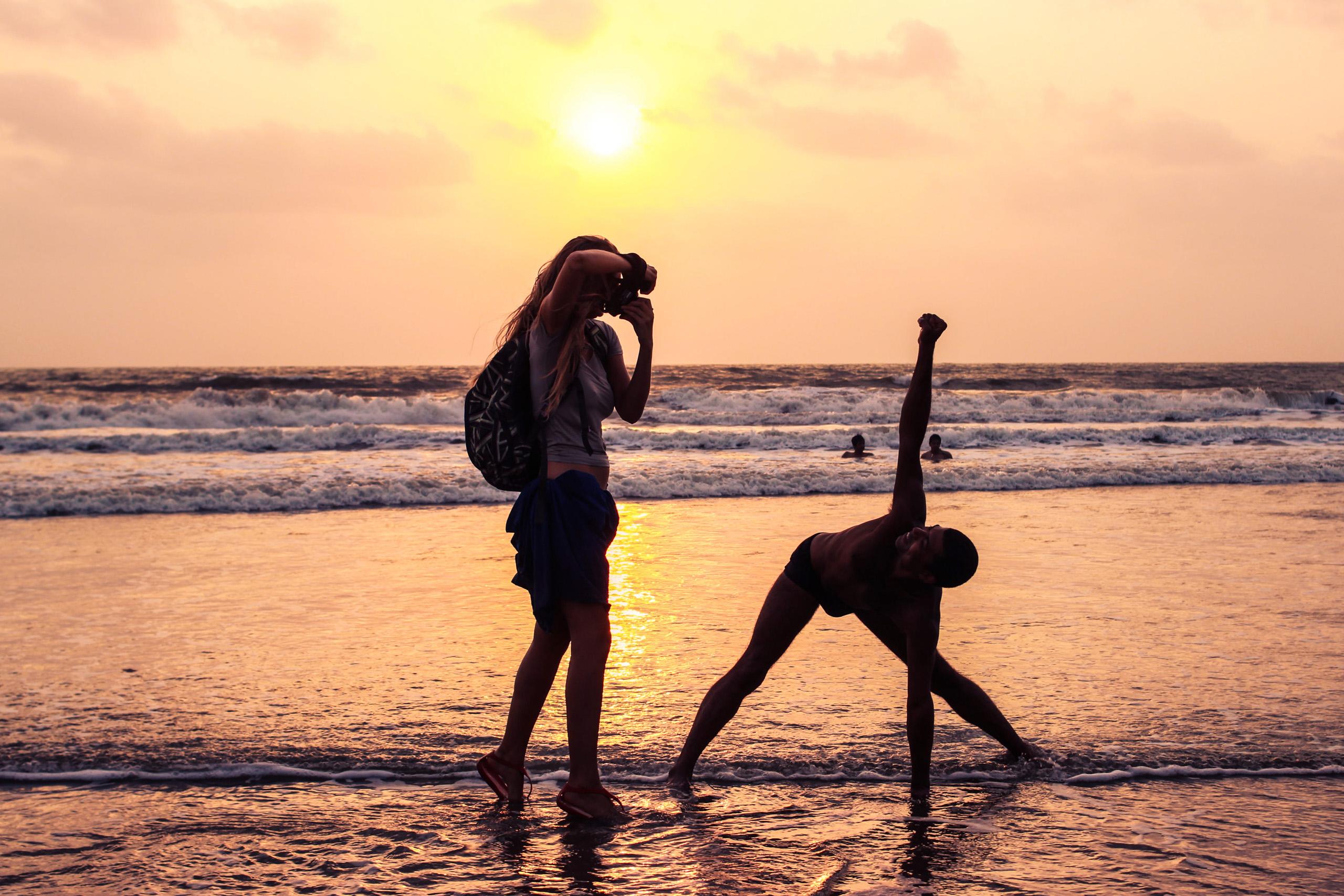Helen Radionova Shooting in Arambol Beach