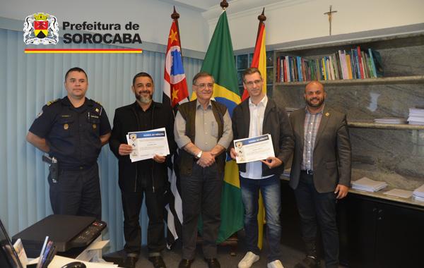 Prefeito recebe consultores que treinam equipe da GCM