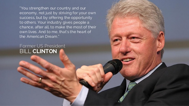 Bill Clinton e il Network Marketing
