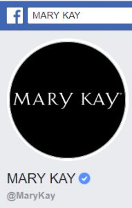 Mary Kay Facebook