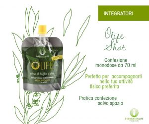 evergreen life products olife shot infuso di foglie