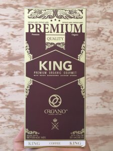 king of coffee organo
