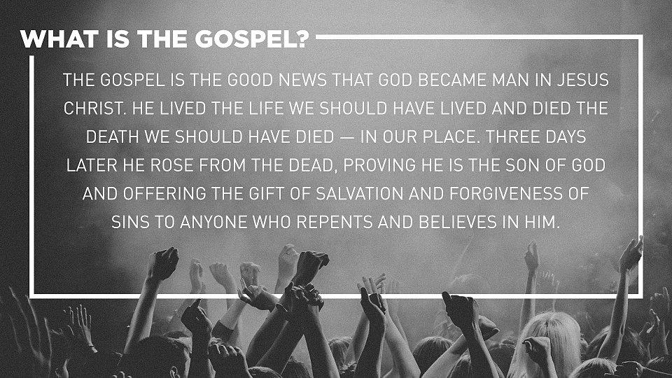 Blog  What is The Gospel  Rice Broocks