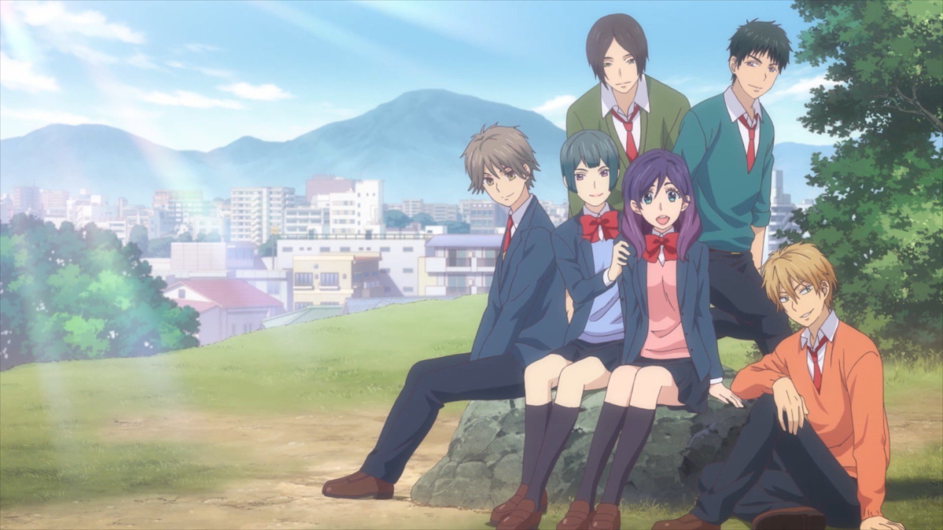Cute Anime Wallpapers That You May Know Kiss Him Not Me Review Anime Rice Digital Rice Digital