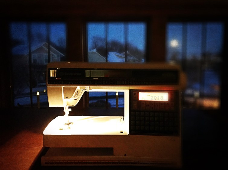 View from My Sewing Loft