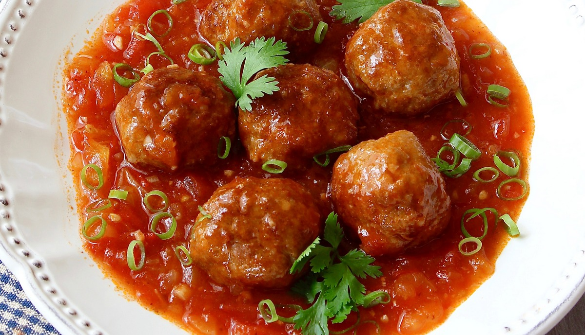 tomato and basil sundried red pepper meatballs an easy