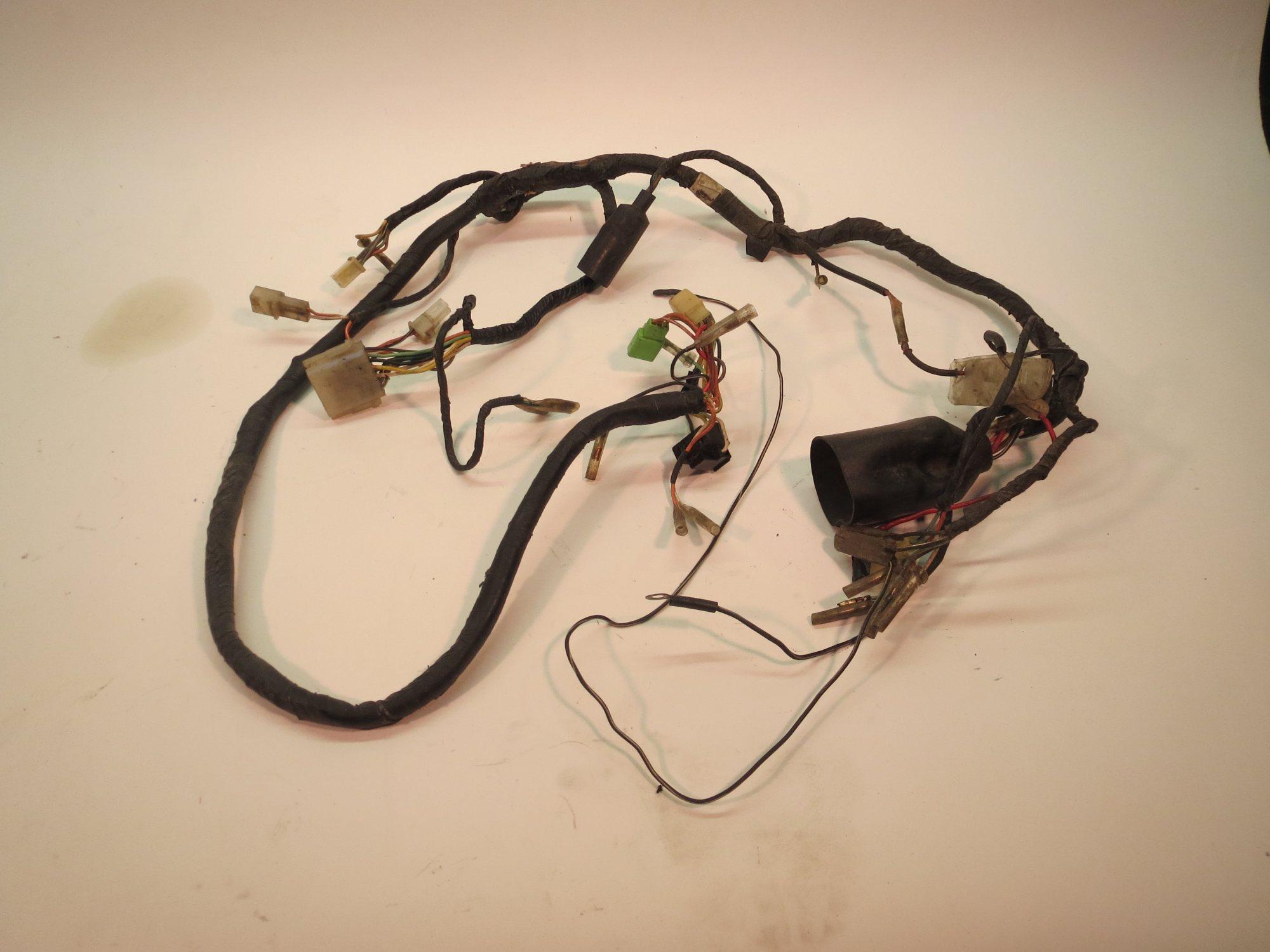 hight resolution of  suzuki gs250t main wiring harness 80 81 on suzuki alternator wiring suzuki lt80 parts