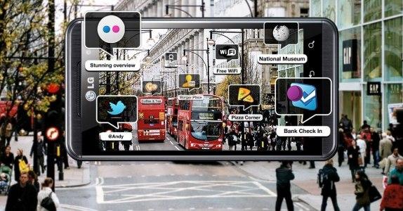 realtà aumentata in città