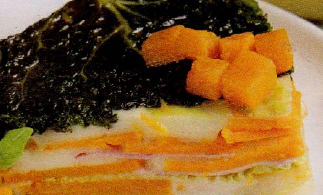 Ricetta di Cucina Sformato di Verza