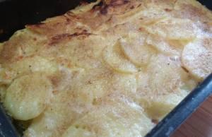 torta di patate con mortadella e galbanino