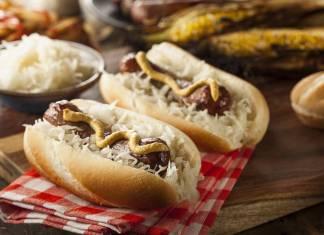 Hot dog bavarese