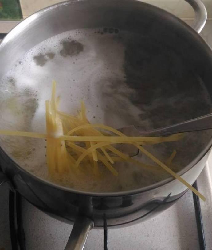 Pasta con le Cozze