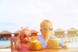 Menù da spiaggia