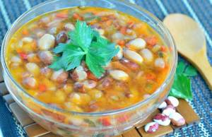 Zuppa di Fagioli Light