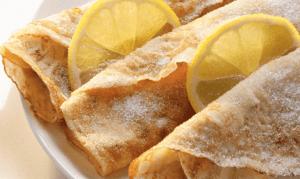 Crepes al limone
