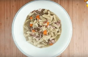 minestra di lenticchie