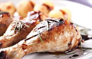 Cosce di Pollo al Forno con Aceto Balsamico