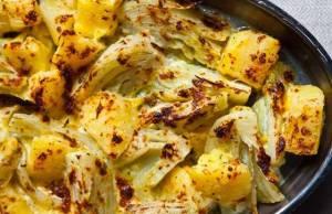Finocchi e Patate al Forno gratinati